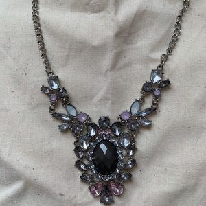 Jewelry - ✨ Pink Silver Stunning Pendant Necklace